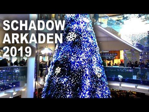 Weihnachtsbaum-Show in den Schadow-Arkaden Düsseldorf 2019