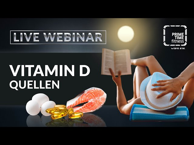 VITAMIN D3 (live Webinar)