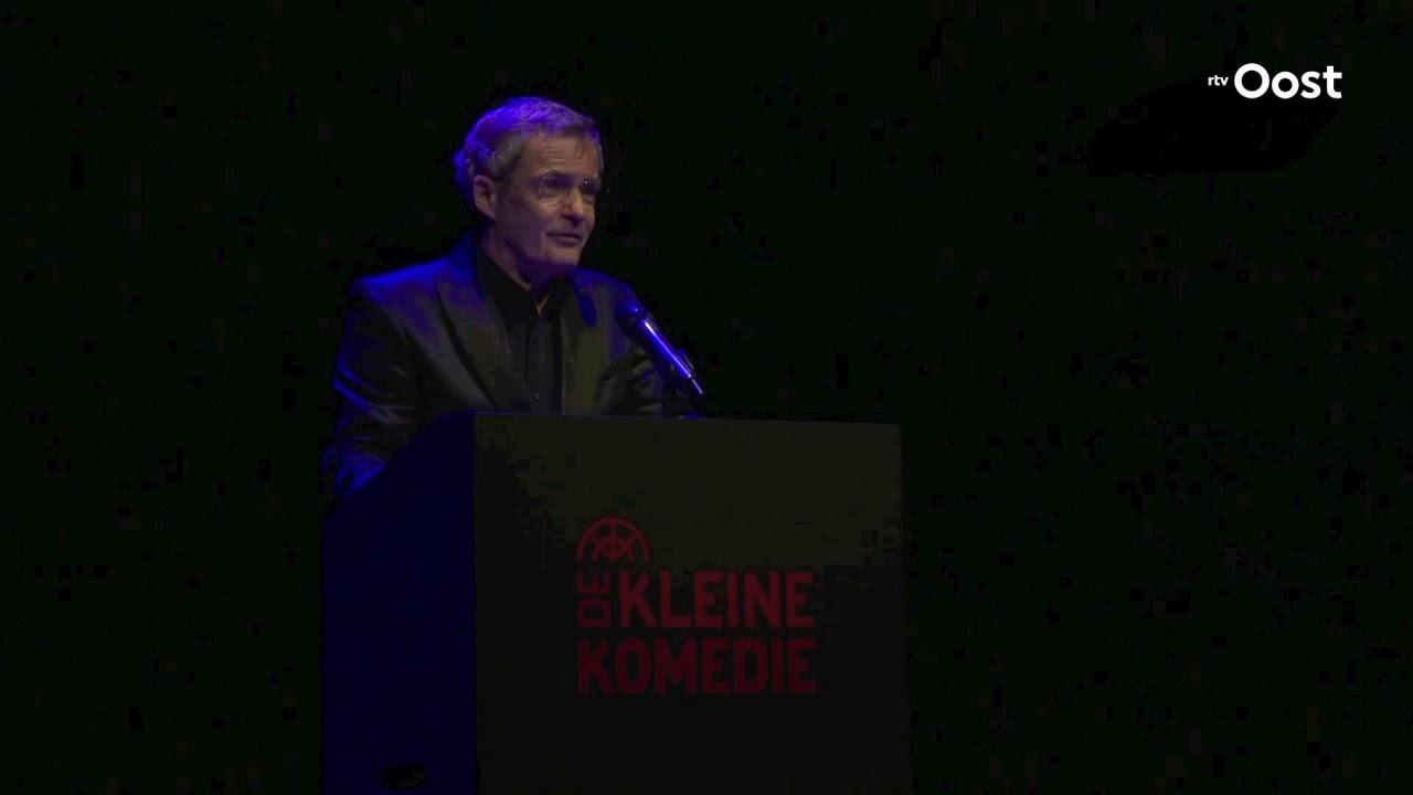Dankrede Herman Finkers Bij Ontvangen Blijvend Applaus Prijs 2019