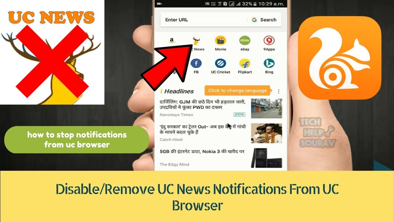 how to remove safe search in uc browser