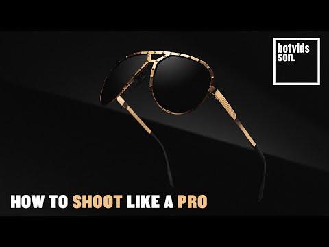 How to Photograph Sunglasses Like a Pro