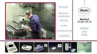 MarSurf  M 300 (Mahr) Прибор для измерения шероховатости(Удобный и эффективный аппарат для измерения шероховатости. Отличается мобильностью, возможностью передач..., 2013-10-11T20:30:40.000Z)