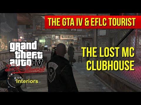 The GTA IV & EFLC Tourist: The Lost MC Clubhouse