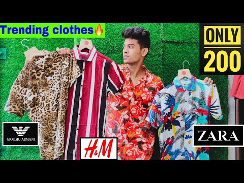 PRINTED TRENDING SHIRTS,T-SHIRTS,FORWAY LYCRA PANTS IN CHEAP PRICE | MUMBAI | HIGH NECK T-SHIRTS