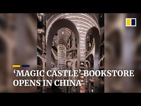 'Magic castle' bookstore opens in China