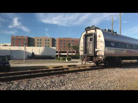 CSX and Amtrak action in Tampa FL 16 trains in 10 hours October 24 2016