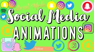 ✰ FREE Social Media Green Screen Animations Ultimate Pack | Tarrah Hodge