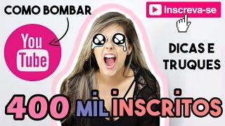 Baixar 10 DICAS INCRÍVEIS PARA SEU CANAL BOMBAR NO YOUTUBE - Gabriela Capone #4em1