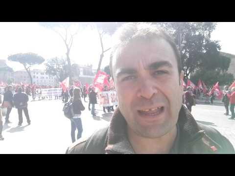 Intervista a Riccardo Saccone, segretario generale Slc Cgil Roma e Lazio