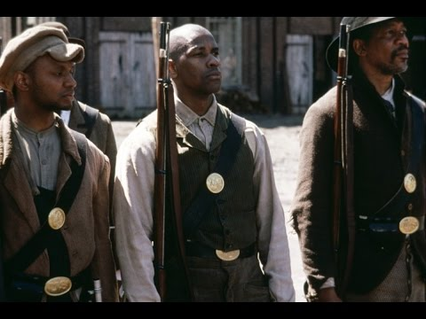 Glory 1989 || Matthew Broderick, Denzel Washington