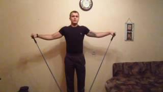 Тренировка дома с эспандером : Урок 00. Уникальная проработка мышц