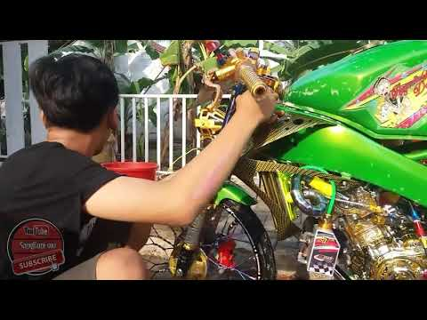 Mandiin Motor V-ixion Modifikasi Street Racing