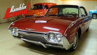 1962 Ford Thunderbird 390 V8 - Nicely Restored Classic Car