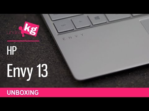HP Envy 13 Unboxing [4K]