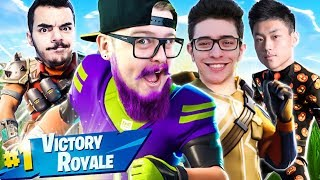 MONTAMOS UM SQUAD LENDÁRIO ft. FLAKES POWER, ATCHIIN E SOFTE - FORTNITE thumbnail