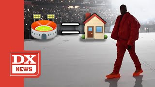 "Kanye West Is Living In Atlanta Arena Until He Finishes ""DONDA"" Album"