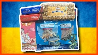 Dried Dead Salted Fish & Other Snacks from Ukraine thanks Earl