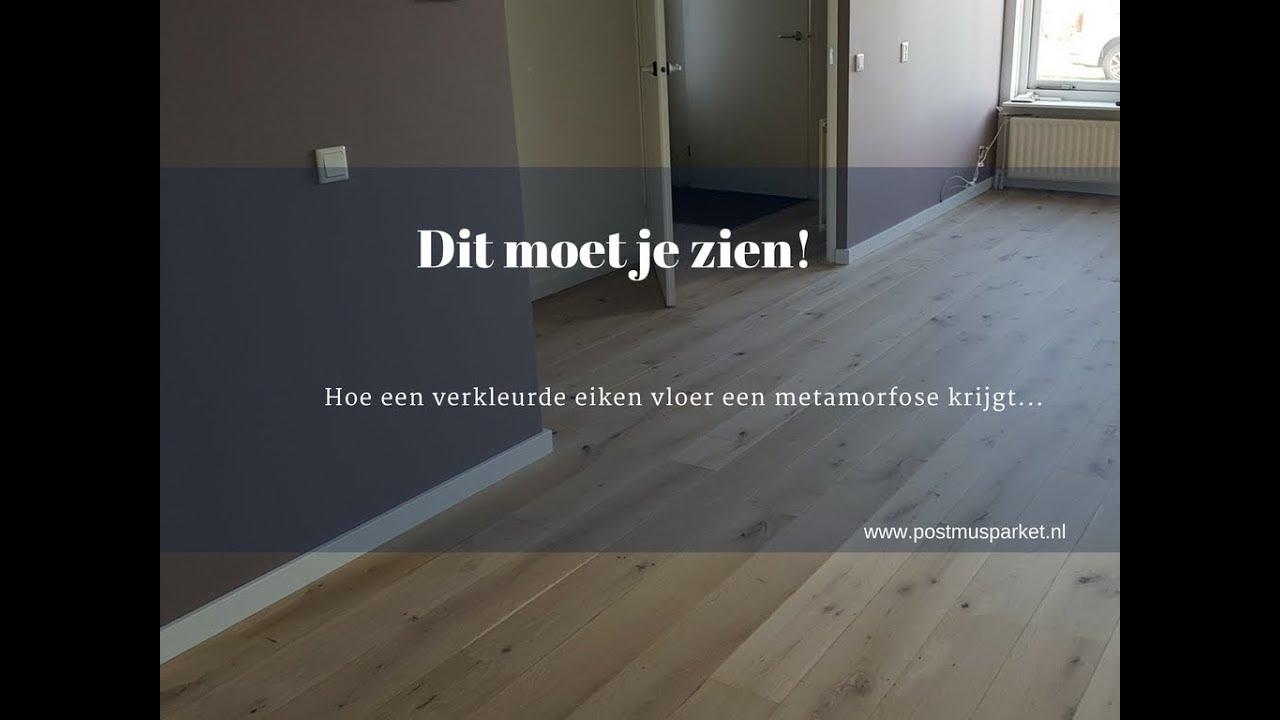 Houten Vloer Lichter Maken : Eiken vloer lichter maken youtube