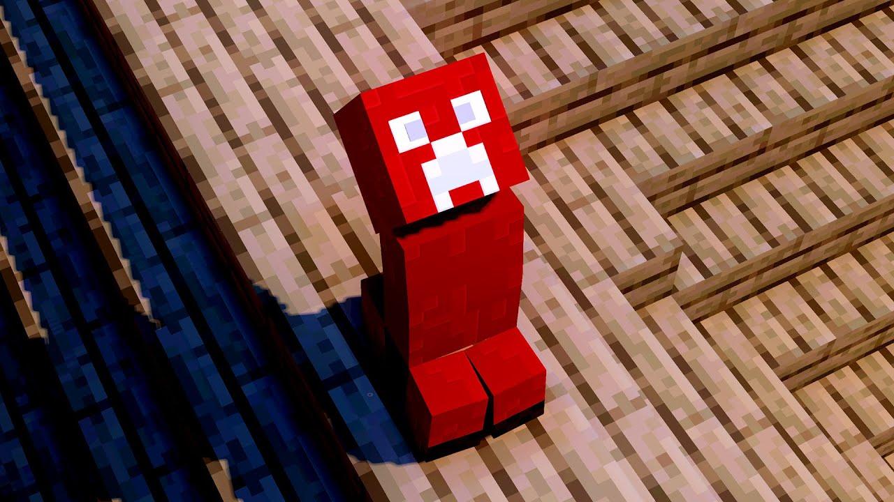 Red Creeper Galau Meminta Hujan - McAnimID Shorts #28