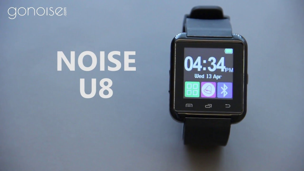 how to connect noise u8 smartwatch with android smartphone