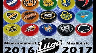 SM-Liiga 2016-17 Maalibiisit + Maalisummerit