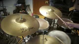 "Zildjian A custom ride 20"" demo"
