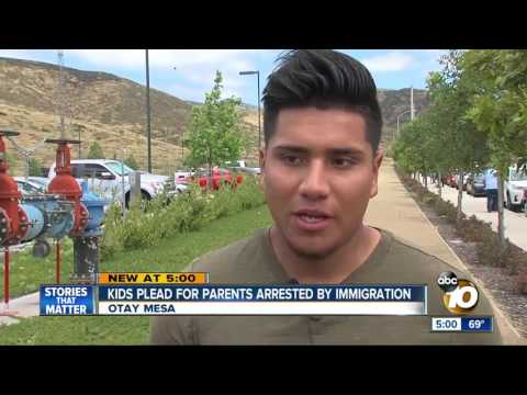 National City kids plead for parents arrested by immigration