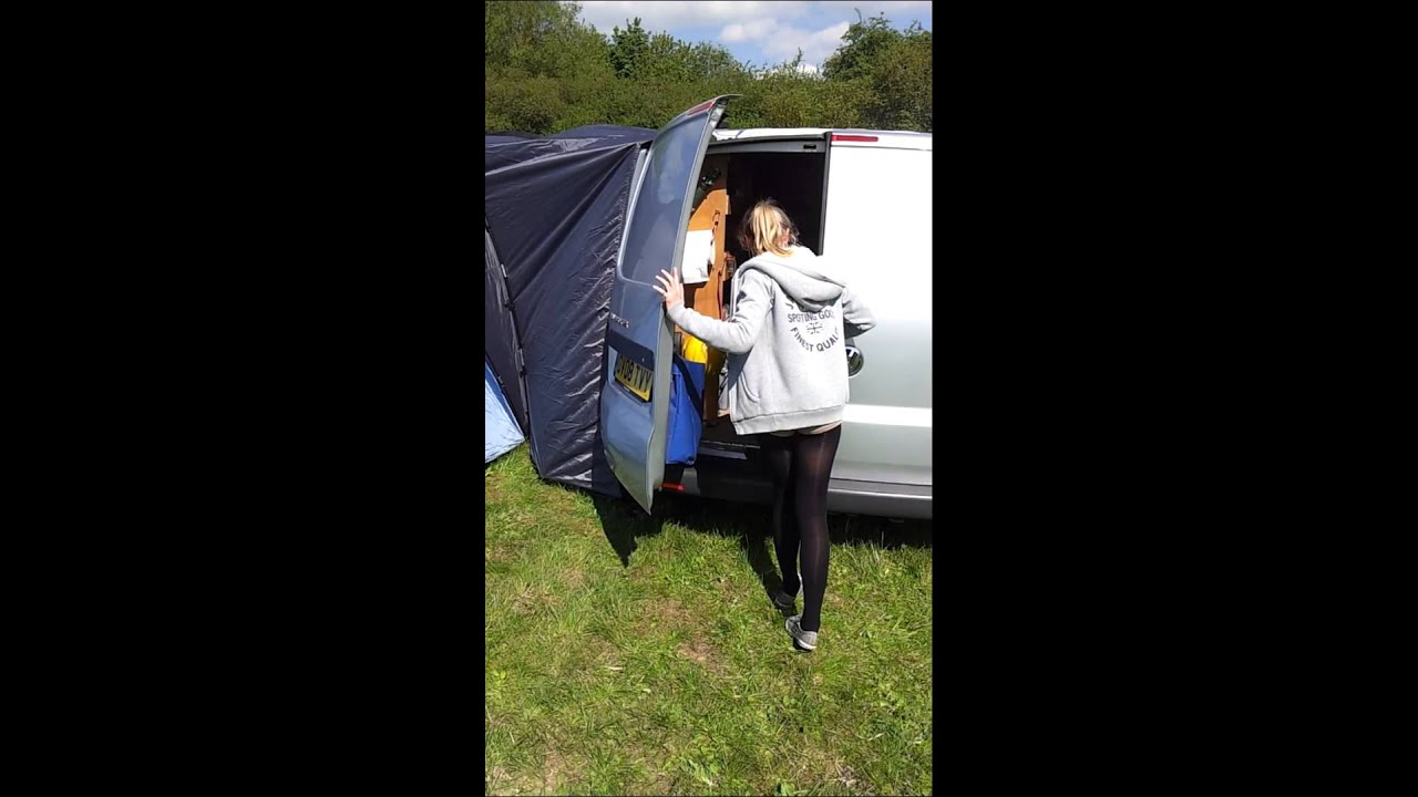 VW Transporter T5 with Tent and huge extras & VW Transporter T5 with Tent and huge extras - YouTube
