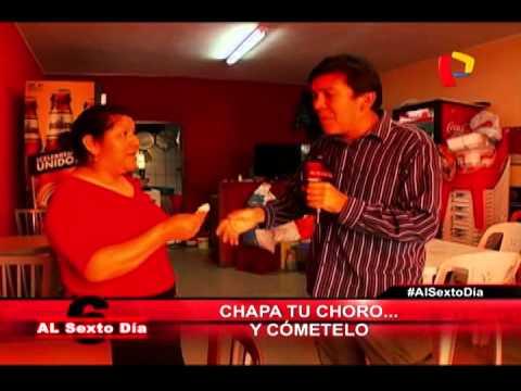 """Cristian Bayro inicia la denominada """"ruta del choro""""."""