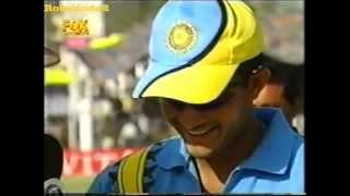 Sourav Ganguly cheats Steve Waugh at the toss RARE FOOTAGE!