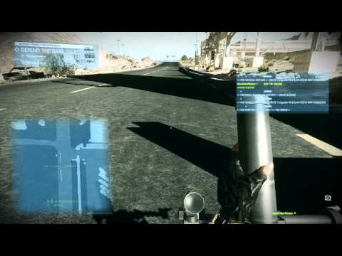 Smoke grenade with Mortar in BF3