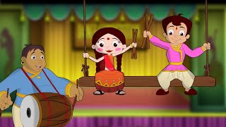 Chhota Bheem - Chalo Re Dandiya Ramva | Disco Dandiya |Navratri Special |Fun Cartoon videos in Hindi