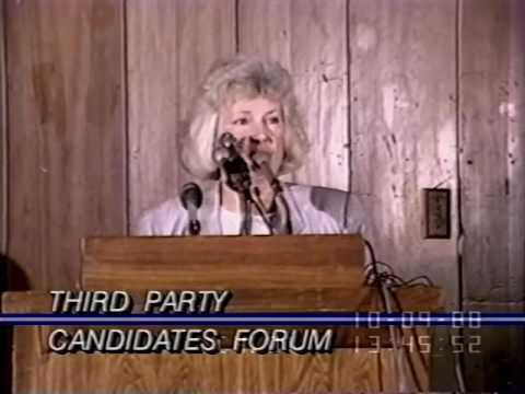 Third Party Presidential Candidates Forum 1988