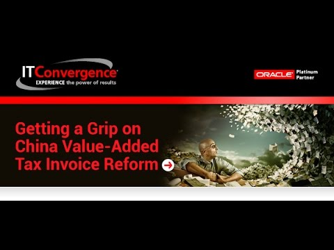 Getting a Grip on China Value-Added Tax Invoice Reform Teaser