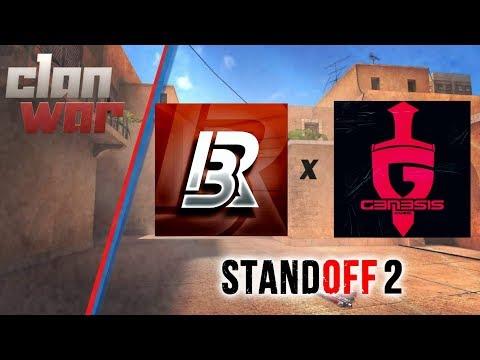 [iBR] vs [G3N] - STANDOFF 2 CLAN WAR