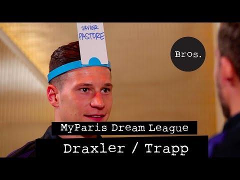 TRAPP / DRAXLER - MyParis Dream League - Devine tête entre allemands du PSG