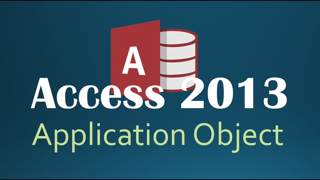 46. VBA - Application Part 2 Programming In Access 2013 (fixed audio)