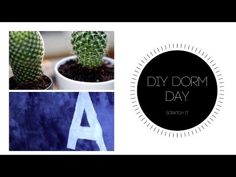 DIY Dorm Day #1