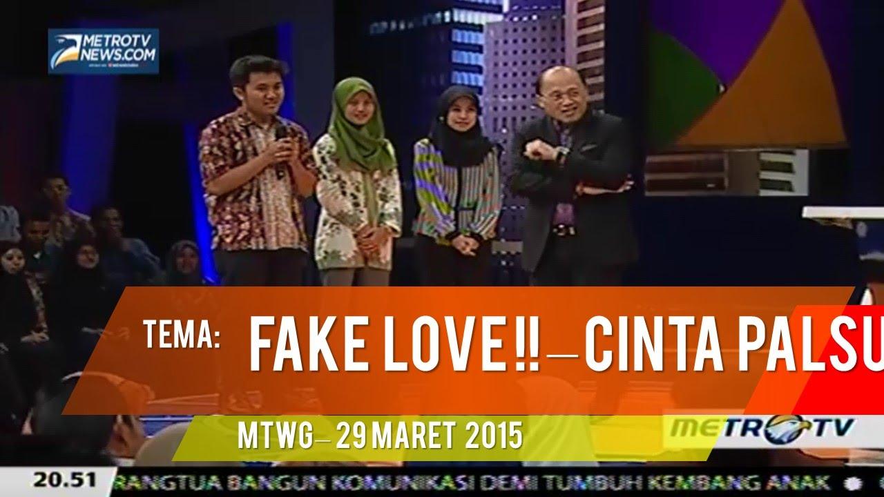 Mario Teguh MTGW - FAKE LOVE CINTA PALSU - 29 Maret 2015 (full)