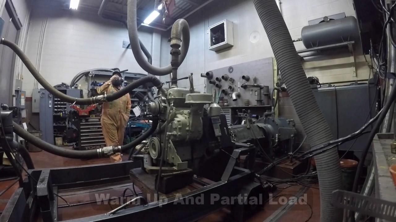 Detroit Diesel 2-71 Dyno