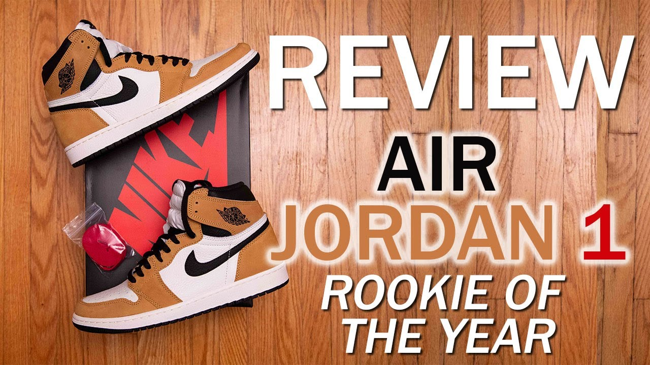 a79d1ff609a067 Air Jordan 1 Retro High OG  Rookie of the Year  Review and On Feet ...