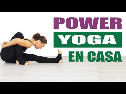 POWER yoga en casa 35 min TODO CUERPO con Elena Malova