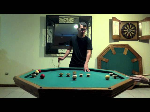 How To Play Bumper Pool Steps With Pictures WikiHow - Pool table with pegs