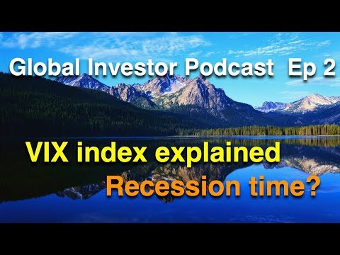 The VIX Index Explained  -  Recession Time?  -  VXX, Volatility, Options