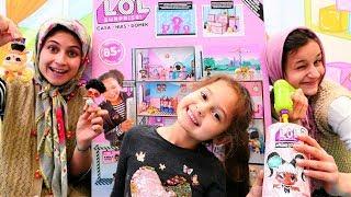 Fındık ailesi LOL oyuncak bebek evini açiyorlar
