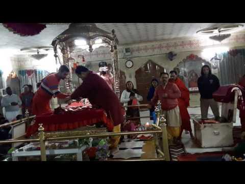 Mataji shringar and shayan arti at Jwala ji shaktipeeth