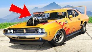 "GTA 5 Casino NEW ""Dodge Challenger RT"" Gauntlet Classic! (GTA 5 Casino DLC New Cars)"