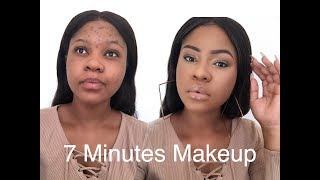 Quick & Easy 7 Minutes MakeUp Routine For The Everyday Girl.