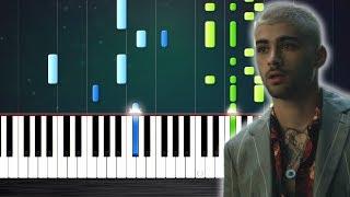 ZAYN - Dusk Till Dawn ft. Sia - Piano Tutorial by PlutaX