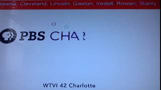 WTVI PBS Charlotte ID/System Cue (read description)